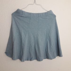 Horny Toad Small Swing Skirt Pale baby Blue pleats